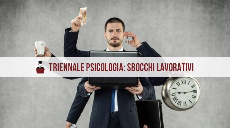 Triennale psicologia sbocchi lavorativi
