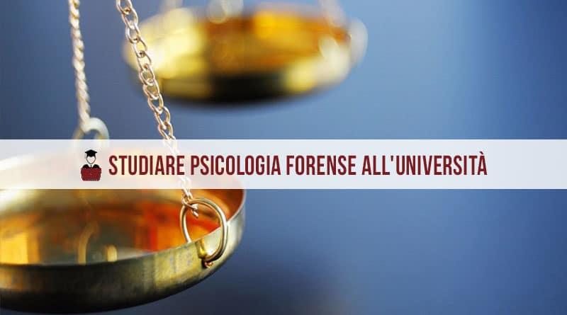 psicologia forense università