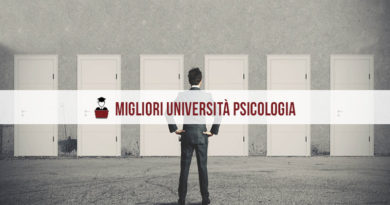 Migliori Università Psicologia: la classifica 2020