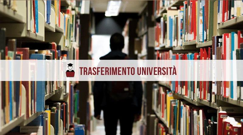 trasferimento università