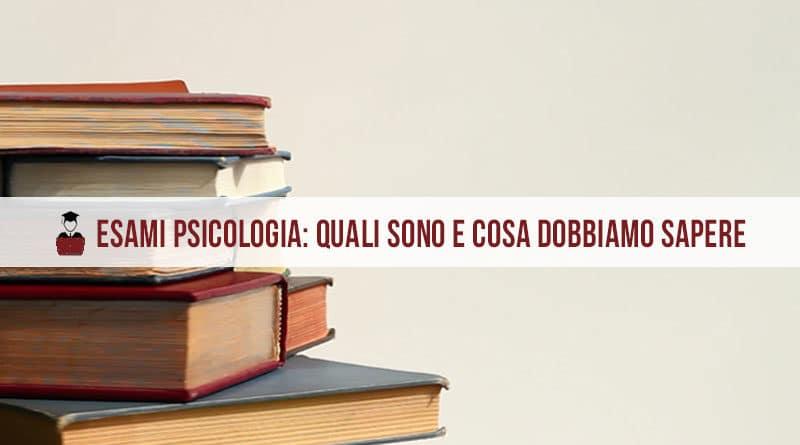 Esami psicologia