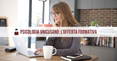 Facoltà Psicologia Unicusano: i corsi di laurea A.A. 2020/2021
