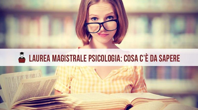 laurea magistrale psicologia