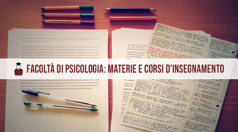 psicologia materie