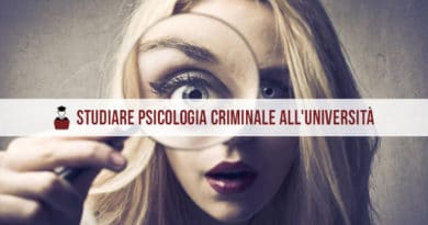 Psicologia Criminale Università
