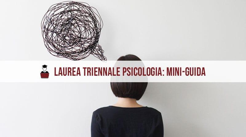 laurea triennale psicologia