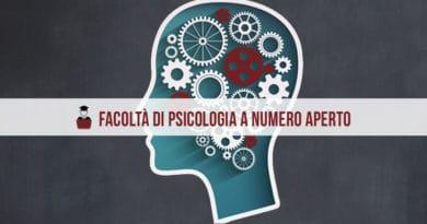 Facoltà di Psicologia Numero Aperto