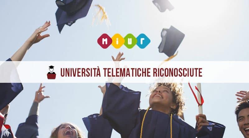 Università Telematiche riconosciute dal MIUR