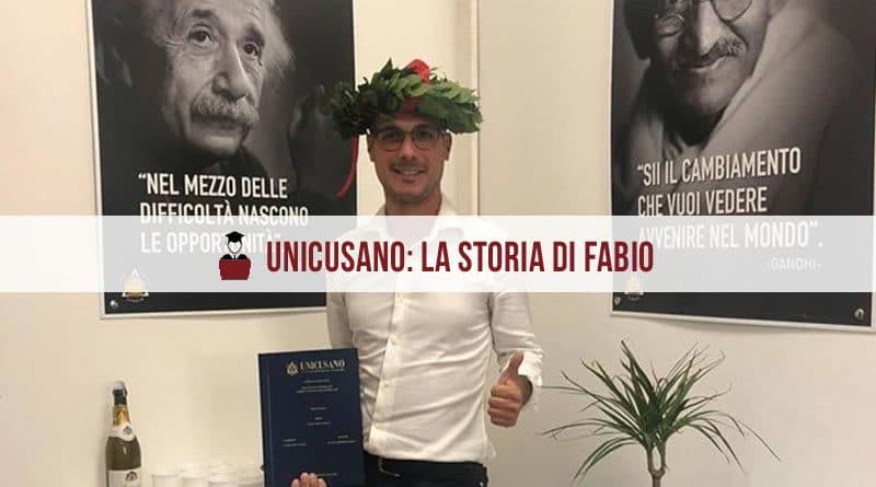 Opinioni Unicusano: l'intervista a Fabio, laureato in Psicologia