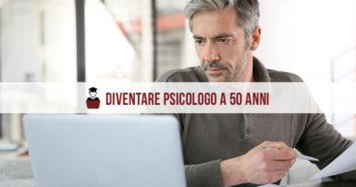 Diventare psicologo a 50 anni: si può fare!
