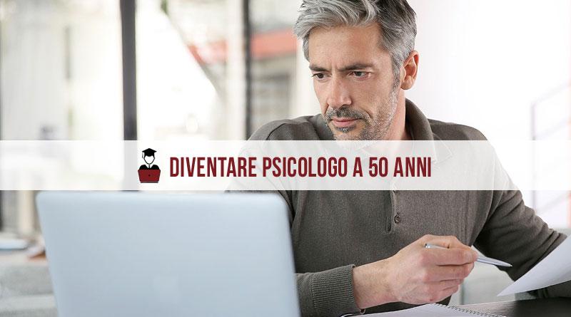 Diventare psicologo a 50 anni
